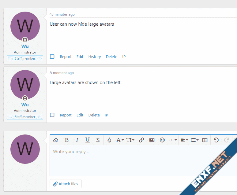 [Wutime] Allow User to Hide Avatars
