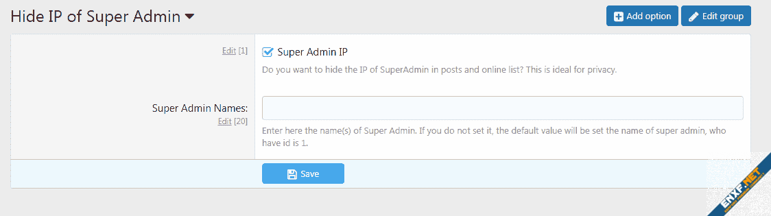 [MMO] Hide IP of Super Admin