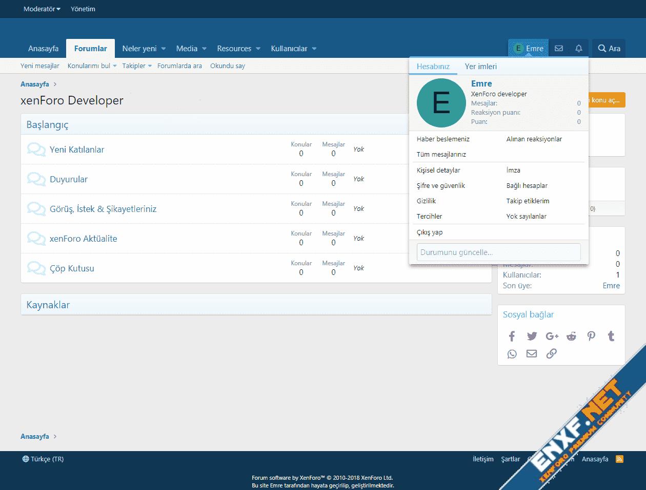 XenForo 2.1 Full Turkish Language Translations