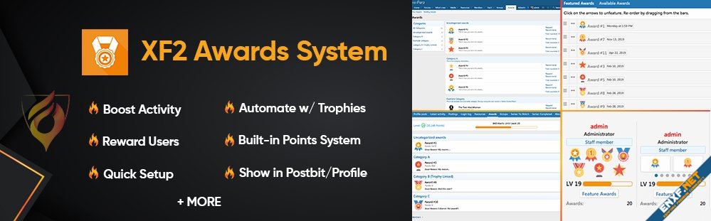 [AddonFlare] XF2 Awards System