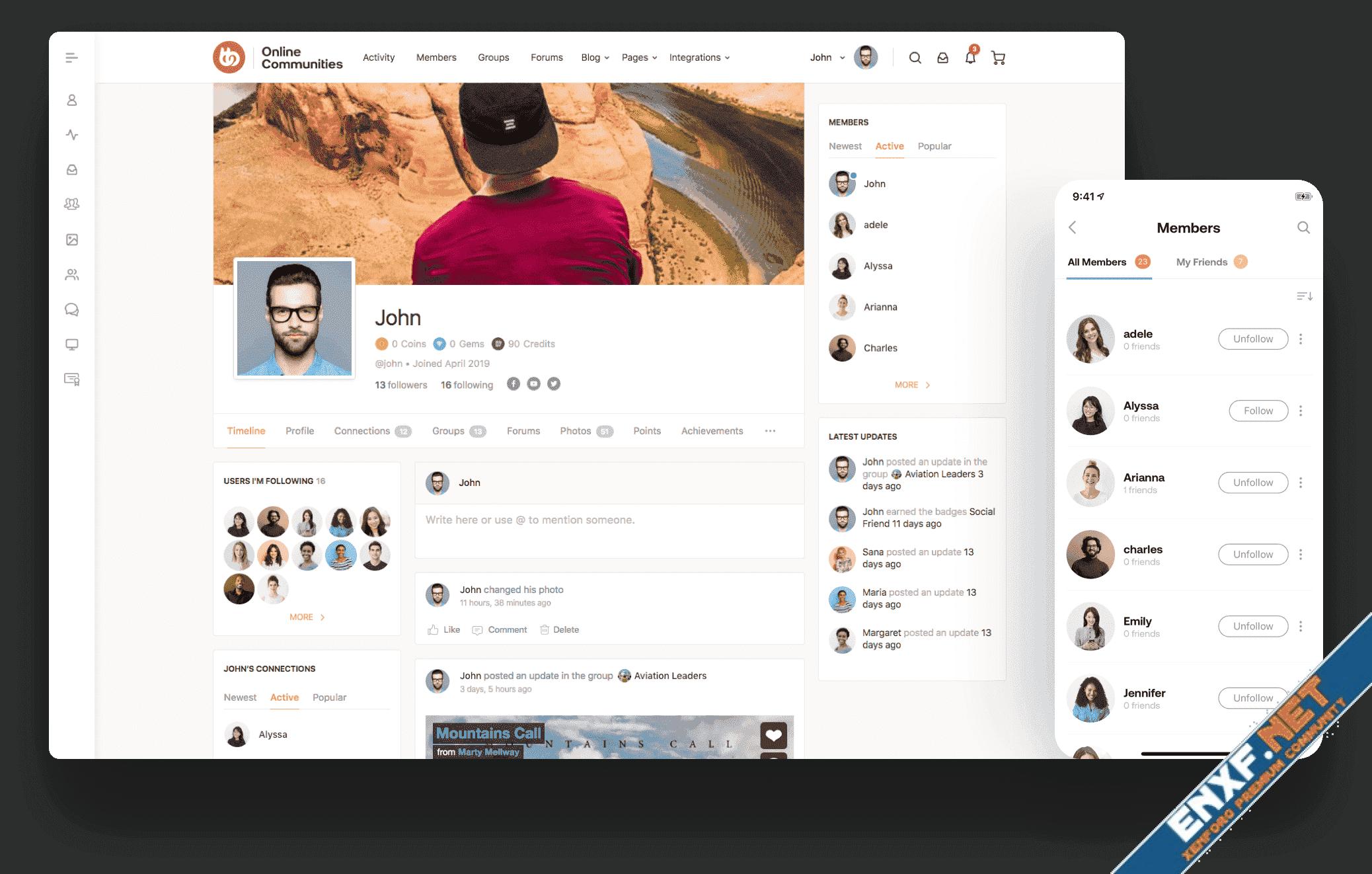 BuddyBoss - Platform Theme