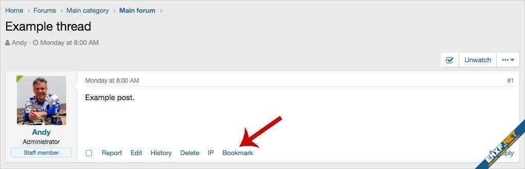 AndyB Bookmark pro