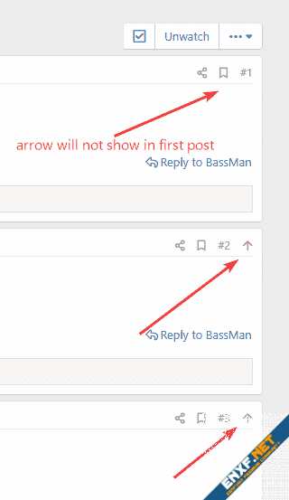 [cXF] Back to top in post