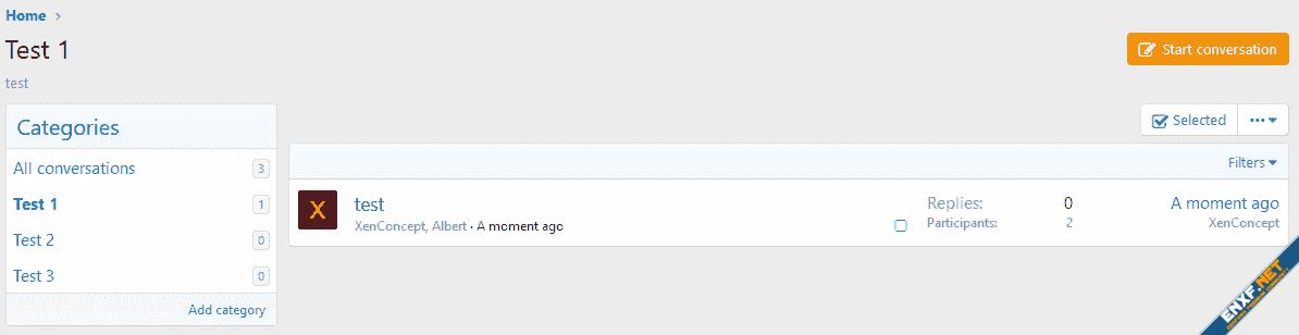[XenConcept] Conversation Category