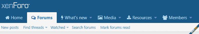 [cXF] Navigation tab icons