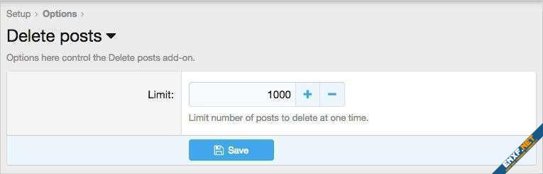 AndyB Delete posts