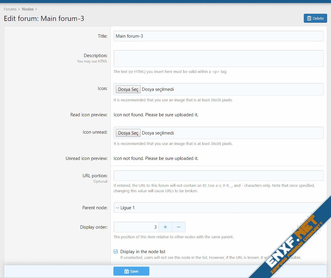 [XTR] Node Icons System - Forum İkonlarını Özelleştirin