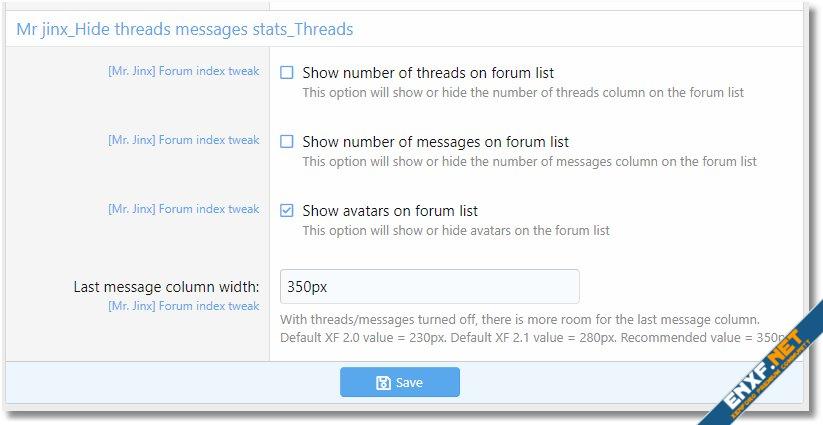 Forum Index Tweak
