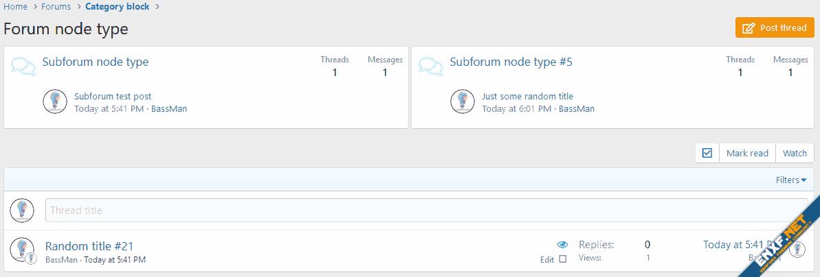 [cXF] Grid Nodes