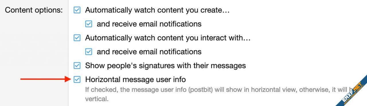 [cXF] Horizontal message user info