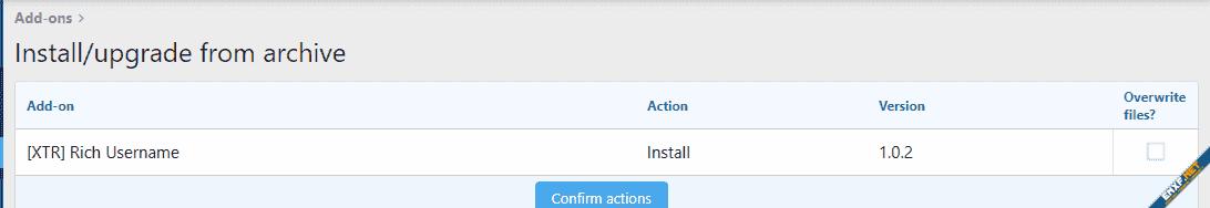 [XTR] Rich UserName - Kullanıcı Adlarını Tüm Alanlarda Renklendirme