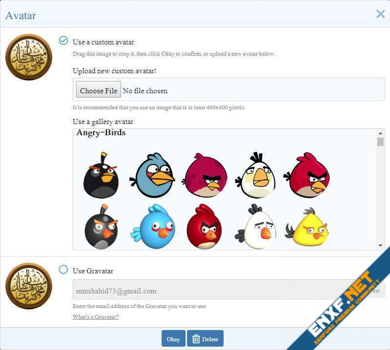 [ITD] Angry Birds Avatars Pack