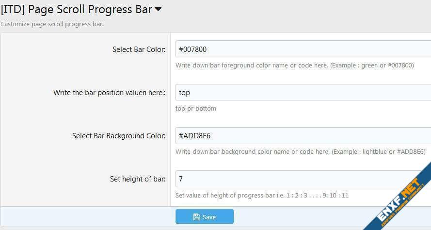 [ITD] Page Scroll Progress Bar II