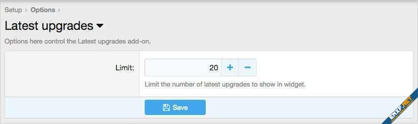 AndyB Latest upgrades