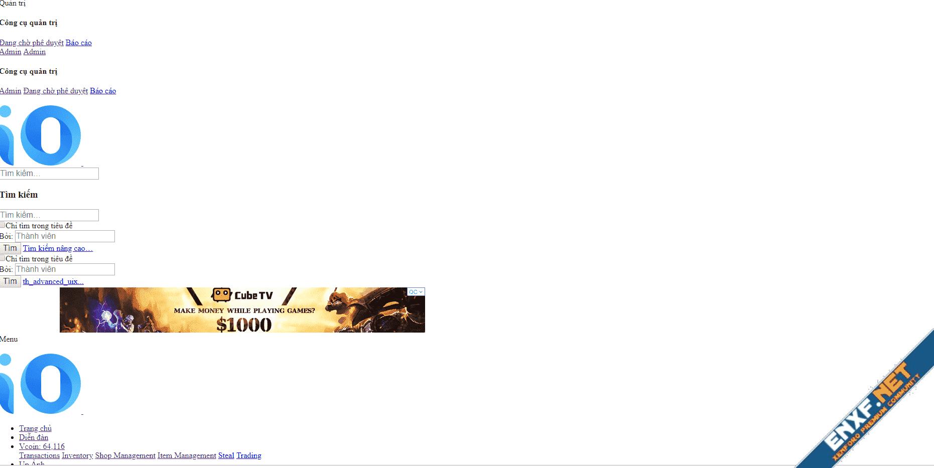 [TH] iO Dark Mode