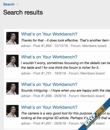 Mini-me posts in threads