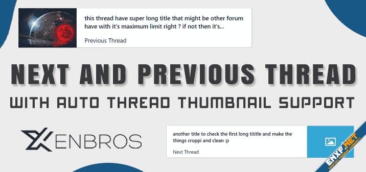 [Xenbros] Next and Previous Thread