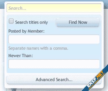 [cXF] QuickSearch Customization