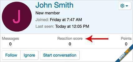AndyB Remove reaction score