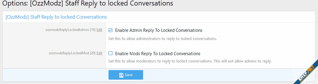 [OzzModz] Staff Reply to locked Conversations
