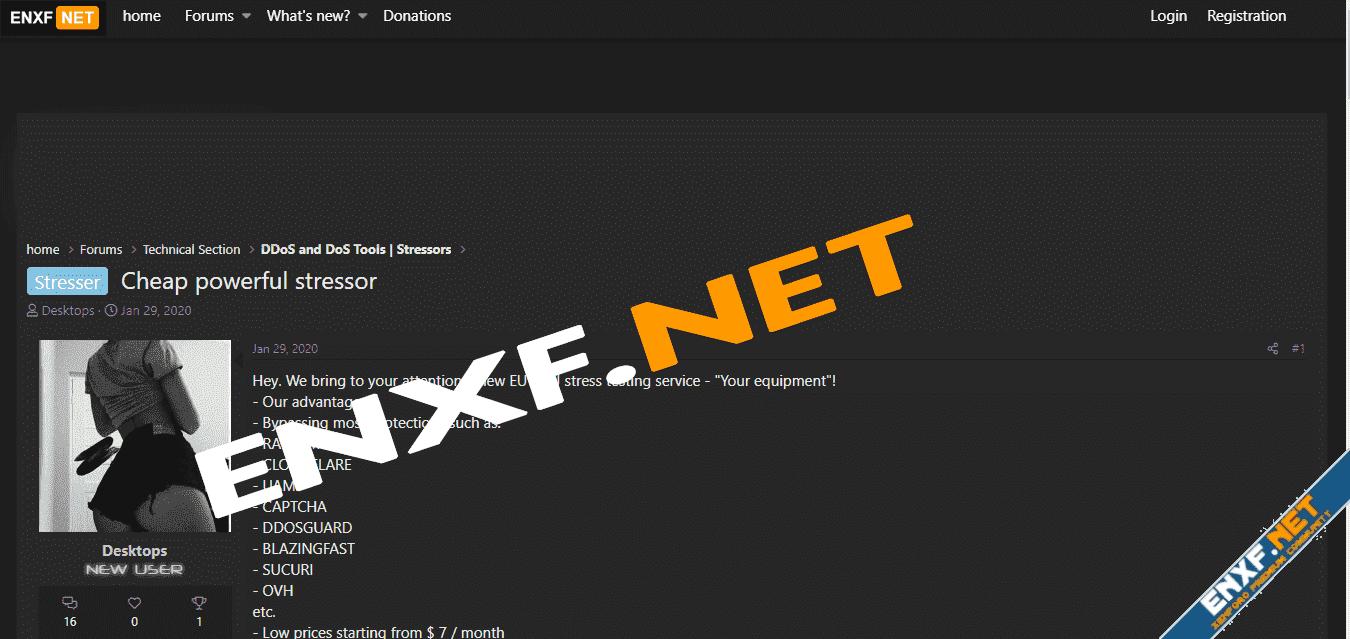 Darknet Style ENXF