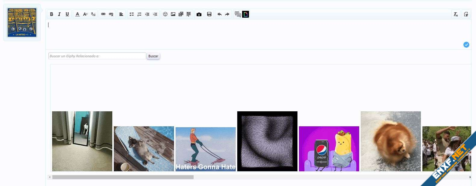 Silvertails Giphy Integration