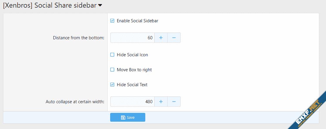 [Xenbros] Social Share Sidebar