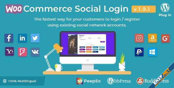 Plugins - WooCommerce Social Login Nulled | XenForo Nulled