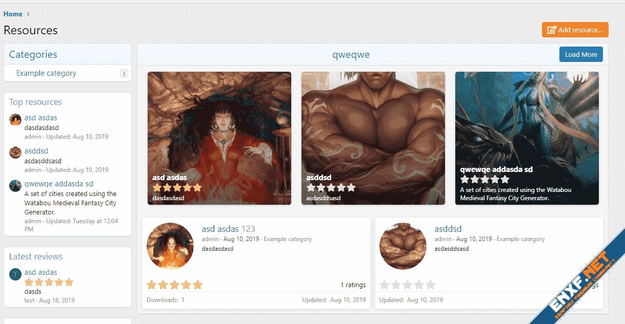[Xenbros] XFRM Gallery widget