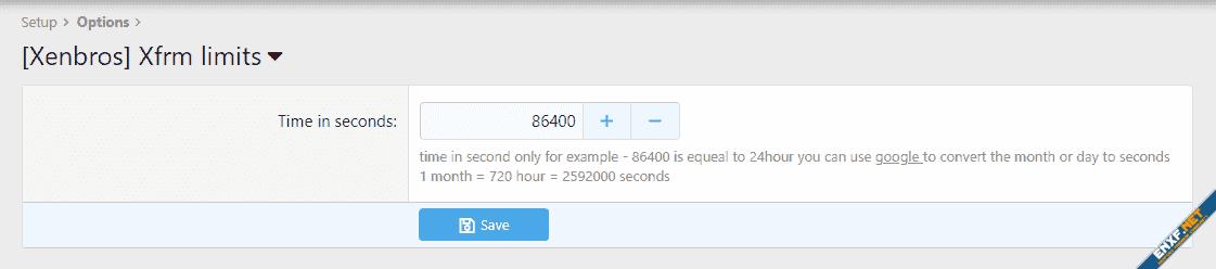 [Xenbros] XFRM limits