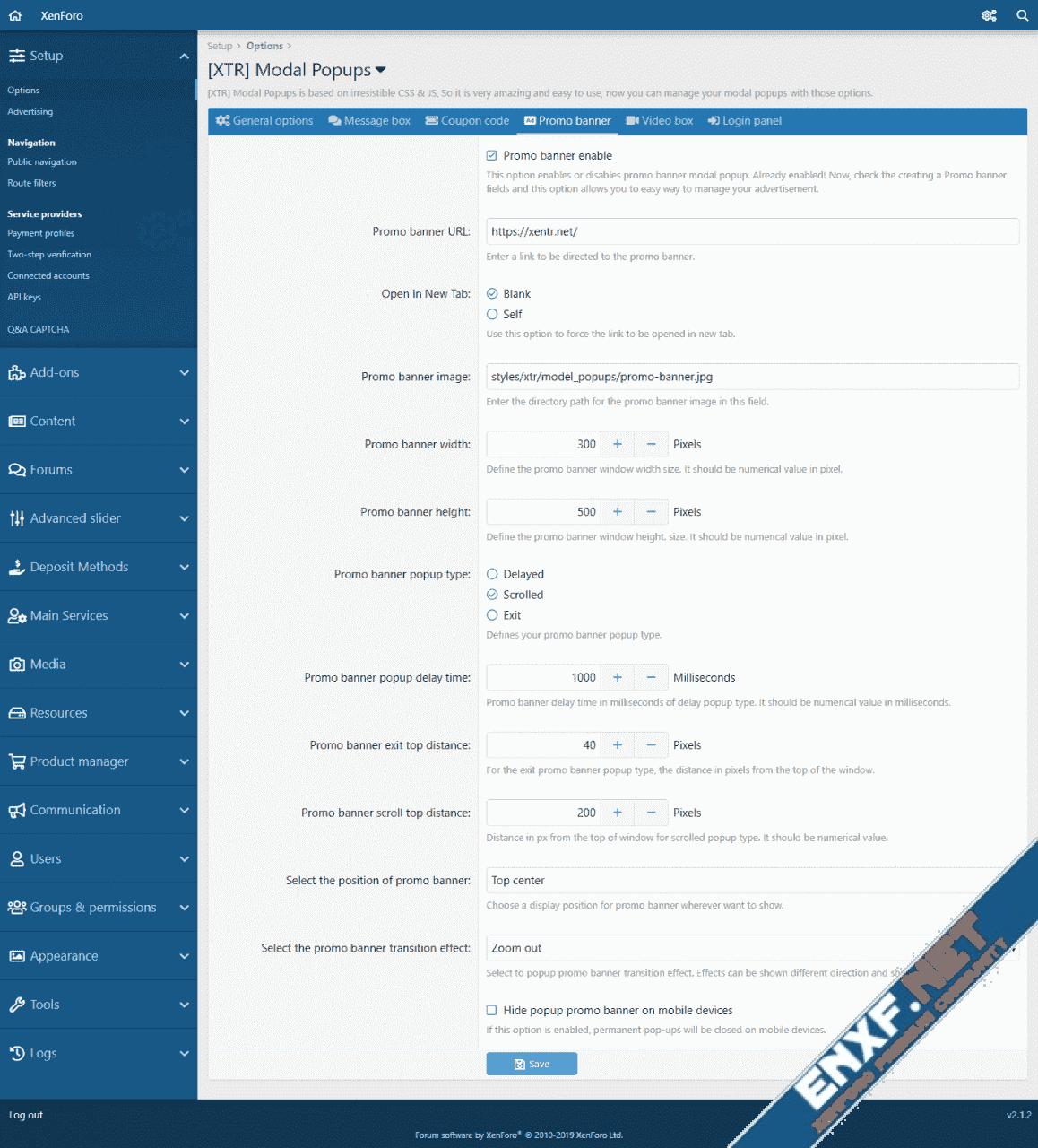 [XTR] Modal Popups