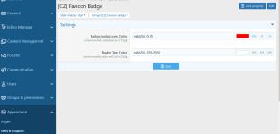 [CZ] Favicon Notification Badge