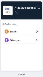 Coinbase Commerce Integration
